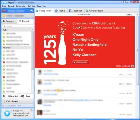 Skype Reklam Örnekleri 1