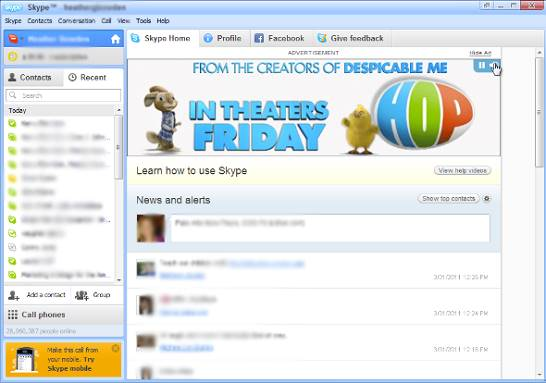 Skype Reklam Örnekleri 2