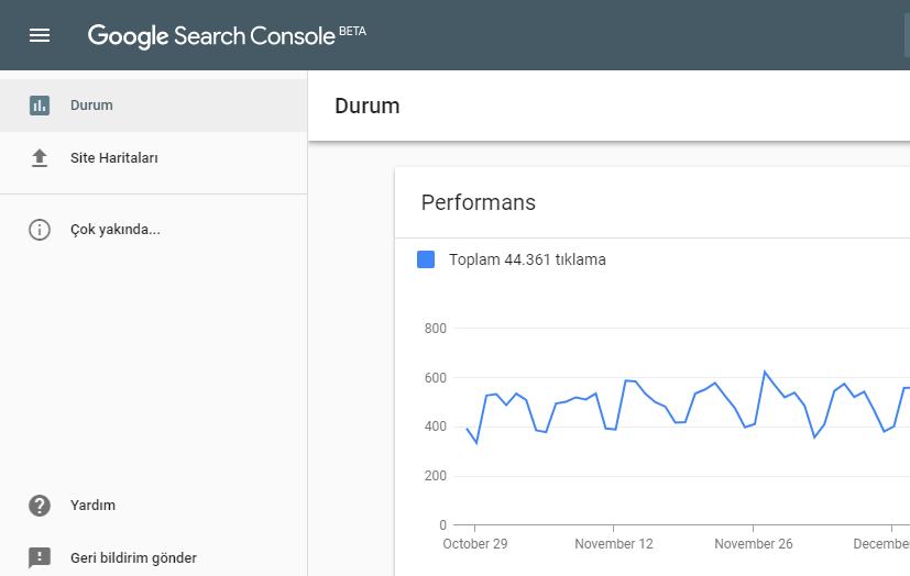 Google Search Console Yenilendi!