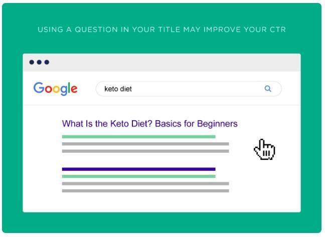 Soru içeren başlıklar aynı zamanda kullanıcılara cevaplar da vermektedir.