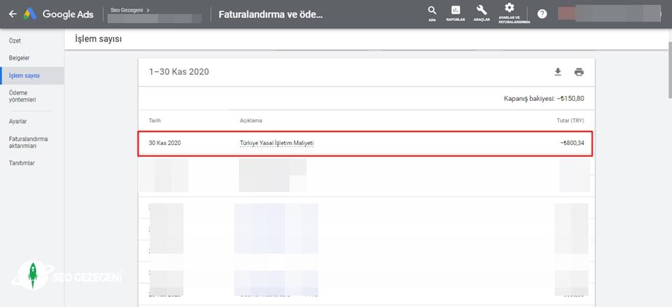 """Google, Reklamlar İçin """"Türkiye Yasal İşletim Maliyeti"""" Almaya Başladı"""